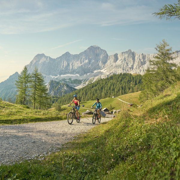E-Mountainbike in Schladming-Dachstein | © Peter Burgstaller