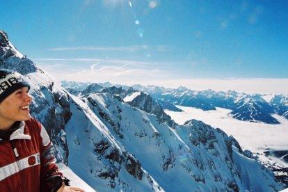 Der Dachstein Gletscher Im Winter Schladming Appartements