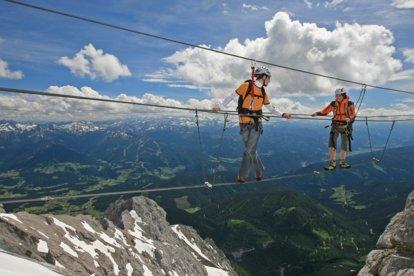 Klettersteig Dachstein : Klettersteig eldorado schladming appartements