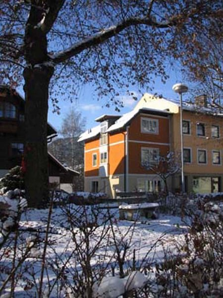 Bliem apartments in winter