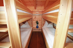 Bedroom 3 with two bunk beds