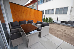 Top 3 - Lounge and garden furniture on a private terrace