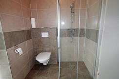 Top 3 - Bathroom with shower and toilet